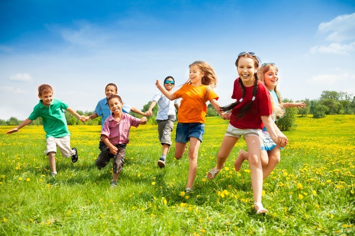 Barn i aktivitet